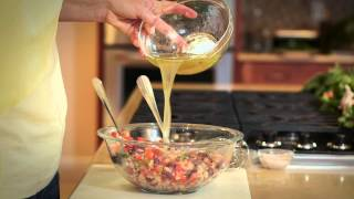 Healthy Bean Tomato Taco Salad : Fit Food