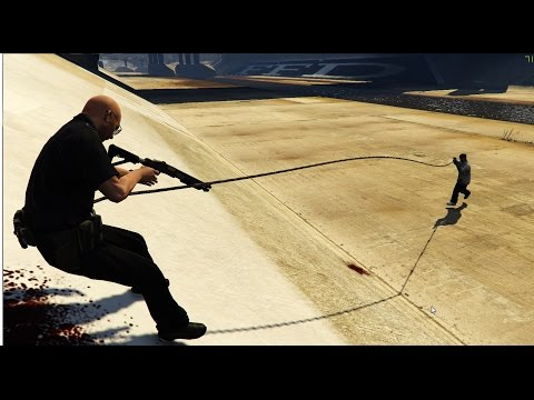 GTA 5 Mod Adds Just Cause 2's Grappling Hook