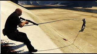 GTA V PC - Just Cause 2 grappling hook mod by JulioNIB