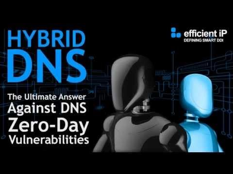 EfficientIP Hybrid DNS Engine: The Ultimate solution to mitigate DNS Zero Day Vulnerabilities