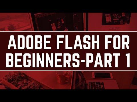 Adobe Flash Tutorials For Beginners   Part 1