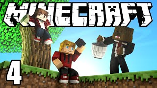 Minecraft SkyBlock Survival Episode 4! w/Mitch & Jerome