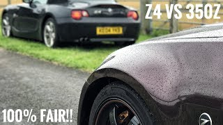 Is My Z4 Better Than A 350Z?