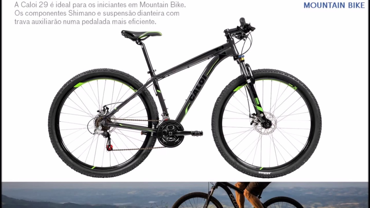 c0cb79f78 Bicicleta Caloi 29