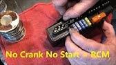 SRT6/SLK/Crossfire RCM and crankshaft sensor repair