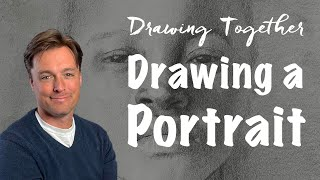 Time to Face Uṗ   Drawing Girl's Portrait