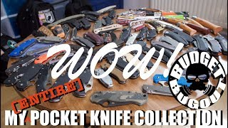 My Pocket Knife Collection! 🔪🔪🔪 | EDC (Everyday Carry), Tactical, Outdoor, Folding Pocket Knives