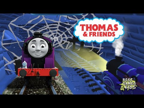 RYAN Adventure in HAUNTED CASTLE  Thomas & Friends: Magical Tracks  Kids Train Set By Budge