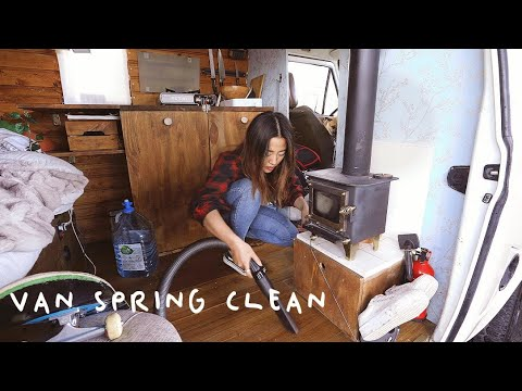 Spring Clean Of My Tiny 7m² Home