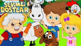 Ali Babanın Çiftliği ve Sevimli Dostlar ile 45Dk Çocuk Şarkıları  Kids Songs and Nursery Rhymes