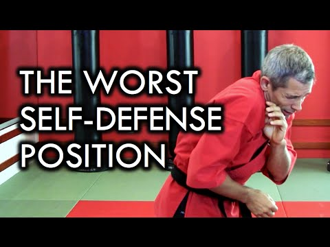 Worst Self-Defense Position and Fighting Stance
