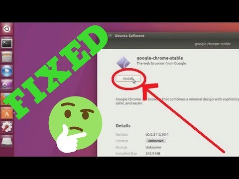 Can not install google chrome on ubuntu 17.04 (FIXED)