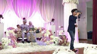 Haqiem Rusli di Majlis Perkahwinan kakaknya, Hani Rusli