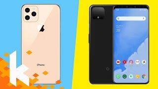 iPhone XI und Pixel 4 werden hässlich...?