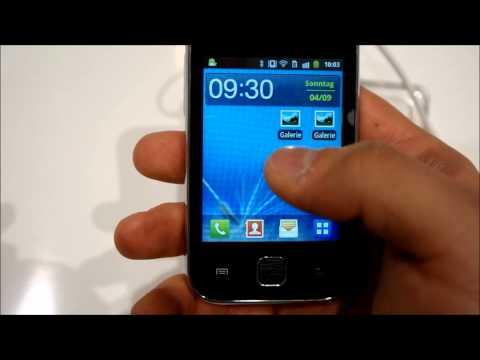Samsung Galaxy Y Hands On deutsch