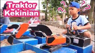 Traktor Mainan Beraksi | Excavator Mini Mainan