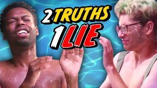 THE WETTEST 2 TRUTHS, 1 LIE - WATER CHALLENGE