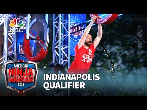 "Andrew ""Roo"" Yori at the Indianapolis Qualifier - American Ninja Warrior 2016"