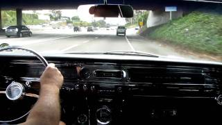 1963 Pontiac Grand Prix out for a drive
