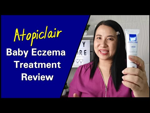 My Baby's Eczema Treatment That Worked : Atopiclair Cream Review