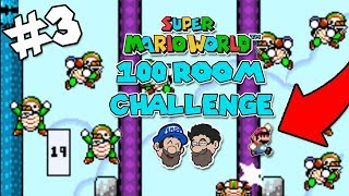 Bowser's Football Team || PART 3 || Super Mario World: 100 Rooms of Enemies