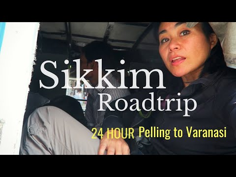 EPIC ROUTE!! SOLO traveling INDIA in a Day  India Travel Guide   Sikkim- KOL- VNS