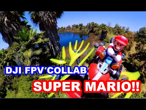 Фото DJI FPV & SUPER MARIO COLLAB 360 4K VIDEO!! INSTA360 DUAL 360 CAMERA!!