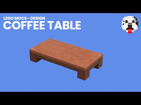 Lego Mocs Design Mini Lego Coffee Table Video Instructions