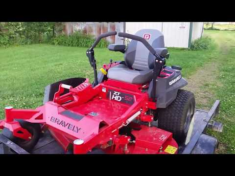 More Problems with the 2017 Gravely ZT-HD 52