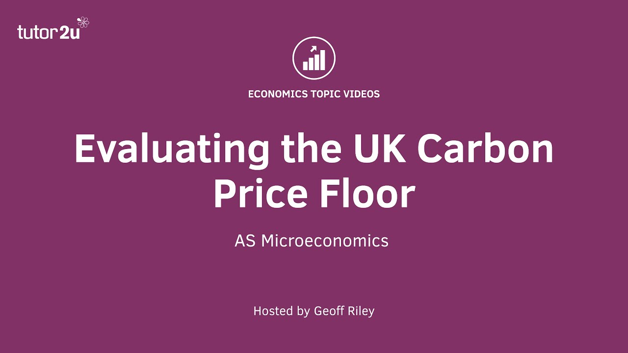 market failure and carbon prices Ib economics/microeconomics/market failure when the price mechanism fails to take into account all the costs and/or benefits in providing and a carbon tax.