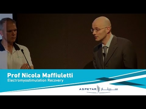 Electromyostimulation Recovery,Related Strategies by Prof Nicola Maffiuletti - 27March2013