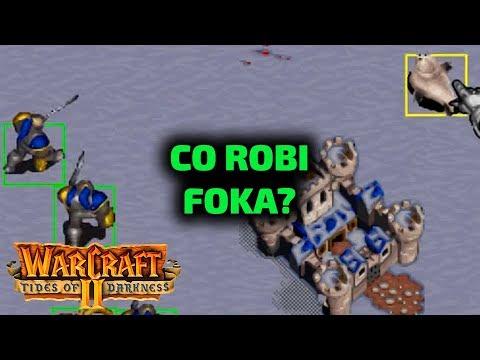 CO ROBI FOKA? - WarCraft 2 kampania ludzie gameplay - Misja 1, 2, 3 i 4