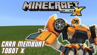 【Build】Cara Membuat Tobot X di Minecraft