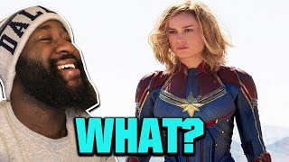 'Mary Sue' Writer Says Captain Marvel Isn't For MEN