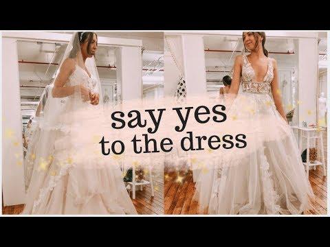 Wedding Dress Shopping! I Said Yes To The Dress!! Emelyne