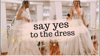 Wedding dress shopping! I said yes to the dress!! Emelyne