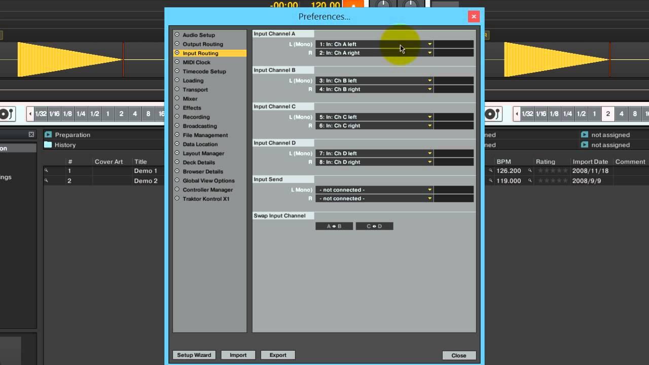 configurar e instalar traktor pro y audio 8 dj parte 2 de 2 youtube. Black Bedroom Furniture Sets. Home Design Ideas