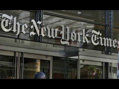 BREAKING: PULITZER PRIZE GIVEN TO NEW YORK TIMES WASHINGTON POST FOR ANTI-TRUMP RUSSIA COVERAGE