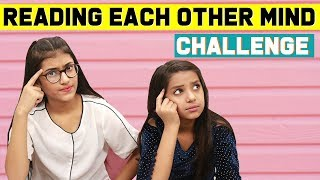 Reading Each Other Mind Challenge | SAMREEN ALI