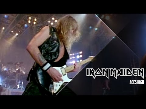 Клип Iron Maiden - Aces High