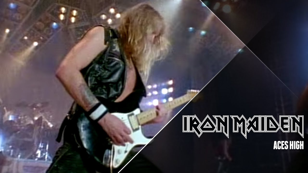 iron maiden aces high video oficial hd