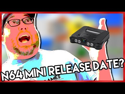 N64 Classic Edition Release Date?
