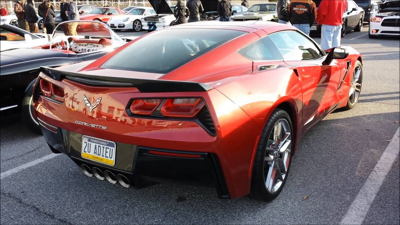 Crystal Red 2014 Corvette C7 Stingray Hunt Valley