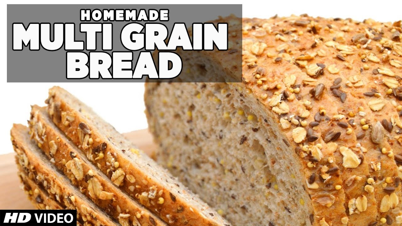 Healthy Multigrain Bread Recipe | Homemade - YouTube