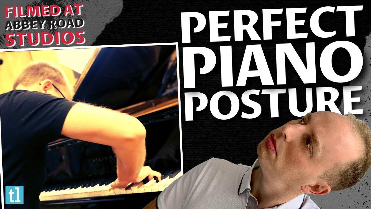 Piano Posture Diagram