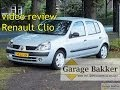 Video review Renault Clio 1.2 16v Expression 5drs, 2003, 14-LX-JN