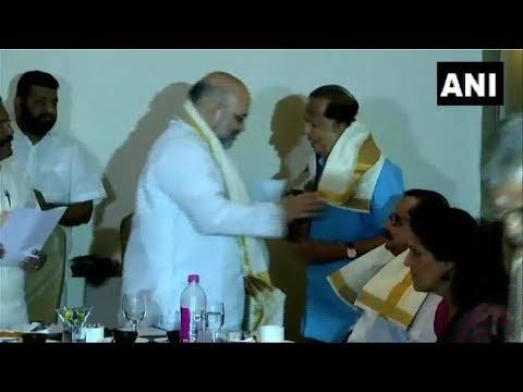 Former ISRO chief Madhavan Nair joins BJP