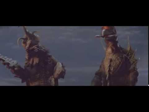 Megalon & Gigan react to Godzilla & Jet Jaguar's escape