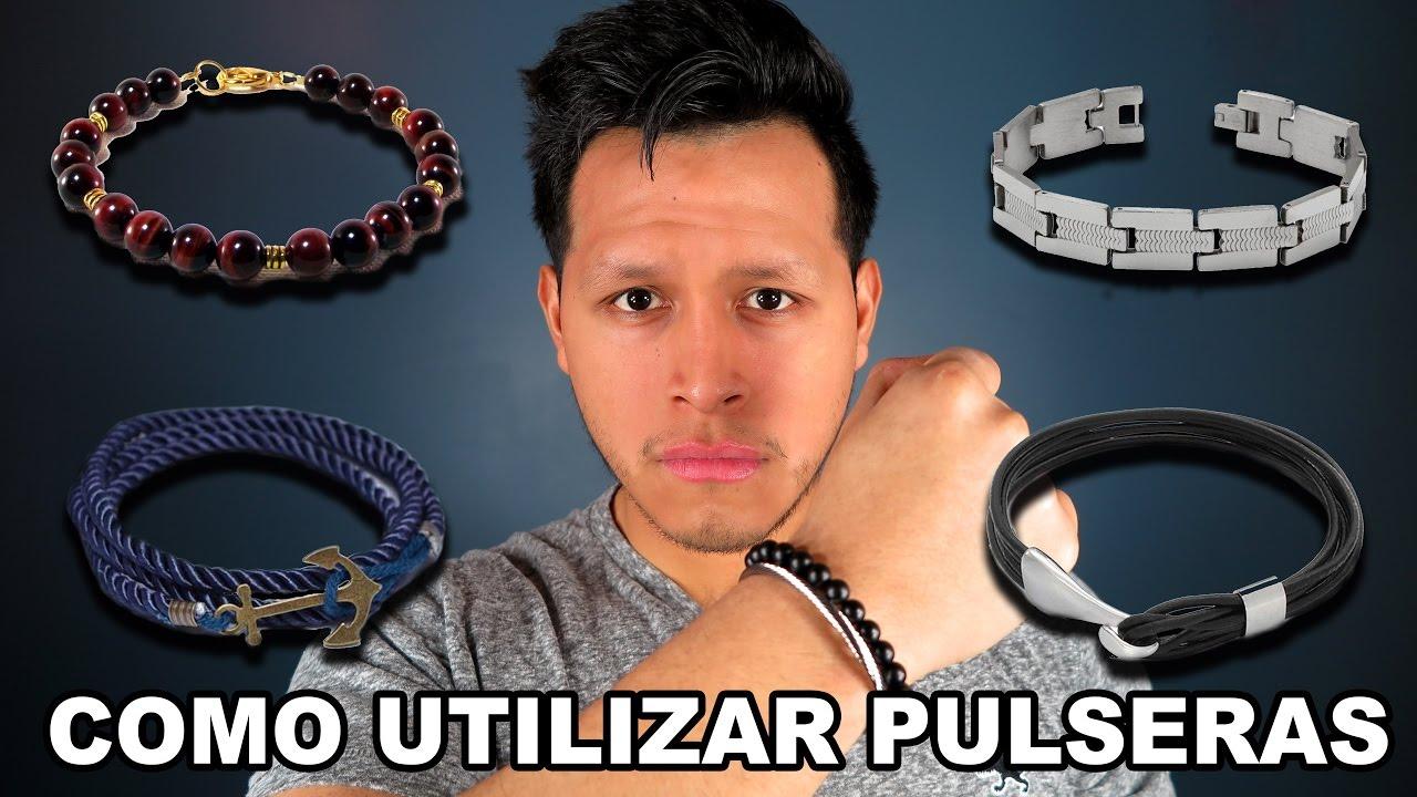 7bd098717aab Pulseras para hombres   Todo sobre brazaletes - YouTube