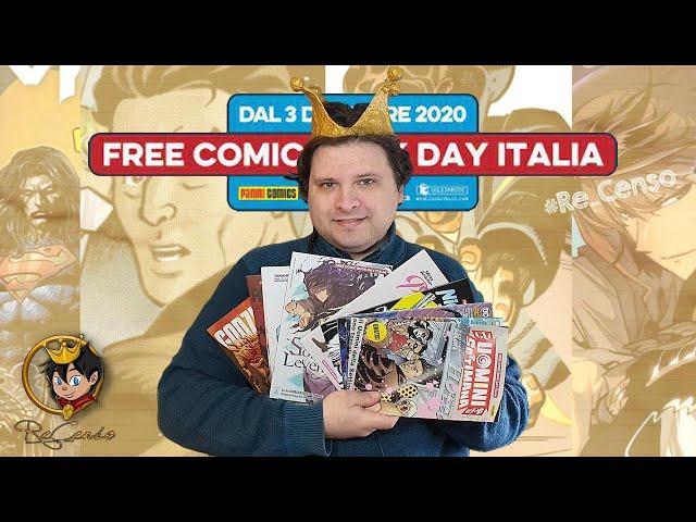 @Re_Censo #394 Ecco il #FreeComicBookDay Italia 2020